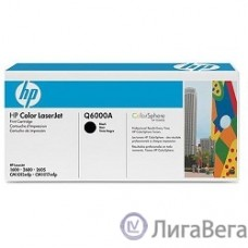HP Q6000A Картридж ,Black{Color LaserJet 2600, Black, (2500стр.)}