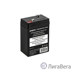 Exegate EX282947RUS Exegate EX282947RUS Аккумуляторная батарея ExeGate DTM 6045 (6V 4.5Ah), клеммы F1