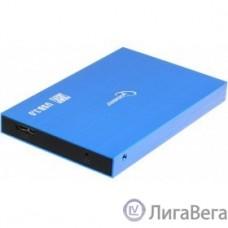 Gembird EE2-U3S-56 Внешний корпус 2.5″ синий металлик, USB 3.0, SATA, алюминий