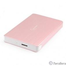 Gembird EE2-U3S-65 Внешний корпус 2.5″ розовое золото, USB 3.0, SATA, алюминий
