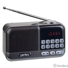 Perfeo радиоприемник цифровой ASPEN FM+ 87.5-108МГц/ MP3/ питание USB или 18650/ серый (i20)) [PF_B4060]
