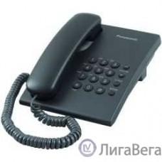 Panasonic KX-TS2350RUB (черный) {повтор номера, регул-ка громкости, кр.на стену}