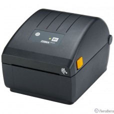 Zebra ZD220d-термо  [ZD22042-D0EG00EZ] {Direct Thermal Printer ZD220; Standard EZPL, 203 dpi, EU and UK Power Cords, USB}