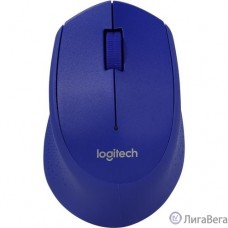 910-004290 Logitech Wireless Mouse Blue M280 1000dpi, Синий