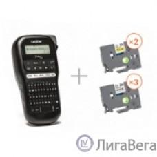 Brother PTH110R1BUND Принтер для печати наклеек в промо наборе PT-H110 + 5 кассет с лентой