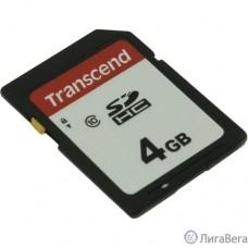 SecureDigital 4Gb Transcend TS4GSDC300S {SDHC Class 10}