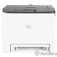 Ricoh P C301W Цветной лазерный принтер, A4, 256Мб, 25стр/мин, дуплекс, PCL, PS3, LAN, WiFi, старт.картр.(1000стр), самозапуск (408335)