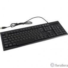 Клавиатура Gembird KB-8354U-BL { USB, черный, 104 клавиши, кабель 1,45м }