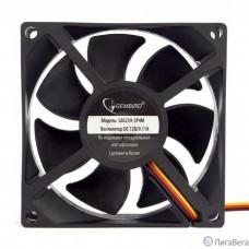Gembird Вентилятор 80x80x25, гидрод., тихий, 3 pin/4pin Molex, провод 30 см (S8025H-3P4M)