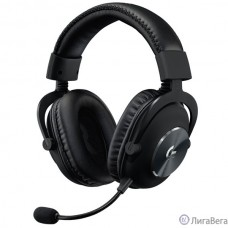 Logitech Headset G PRO X Gaming - BLACK - USB [981-000818]