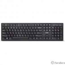 Клавиатура SVEN KB-E5800W Black беспроводная