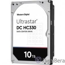 10Tb WD Ultrastar DC HC330 {SATA-III 12Gb/s, 7200 rpm, 256mb buffer, 3.5″}  [0B42266 ]