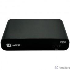 HARPER HDT2-1108 {DVB-T2 HD / SD. Электронный гид и функция Родительский контроль. Видео рекордер для записи телевизионных программ}