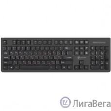 Клавиатура Oklick 505M черный USB slim {1196544}