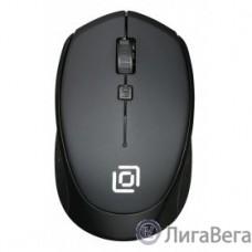 Мышь Oklick 488MW черный/черный оптическая (1000dpi) беспроводная USB (4but) {1196560}