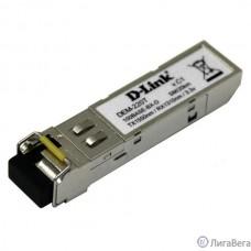 D-Link 220T/20KM/A1A WDM SFP-трансивер с 1 портом 100Base-BX-D (Tx:1550 нм, Rx:1310 нм) для одномодового оптического кабеля (до 20 км)