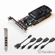 VGA PNY Quadro P620 V2, 2GB GDDR5/128 bit, 4xMini DisplayPort, 1xPCI Express 3.0, 4 xminiDisplayPort - DisplayPort [VCQP620V2-PB]