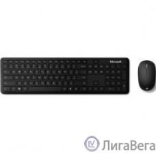 Microsoft Клавиатура + мышь Atom Bluetooth Desktop for Business, Bluetooth, Gray