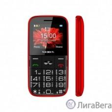 TEXET TM-B227 Мобильный телефон цвет красный