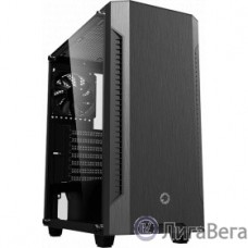 GameMax [Fortress TG A362] ATX,Черн.,USB3.0, Зак.стекло,4*120мм вент+контроллер, без БП