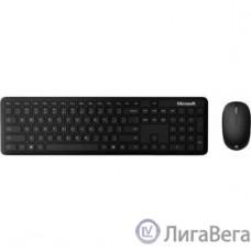 Microsoft Клавиатура + мышь Atom Bluetooth Desktop For Business черный беспроводная BT slim [1AI-00011]