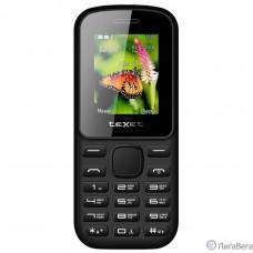 TEXET TM-130 Мобильный телефон цвет черный