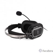 A4 HU-50 черный 2м накладные USB оголовье