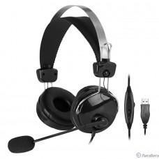 A4 HU-7P черный 2м накладные USB оголовье