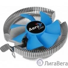Устройство охлаждения(кулер) Aerocool Verkho A Soc-FM2+/AM2+/AM3+/AM4 4-pin 11-29dB Al 100W 230gr Ret