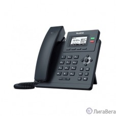 Yealink SIP-T31P, Телефон SIP 2 линии, PoE, БП в комплекте (SIP-T31P)