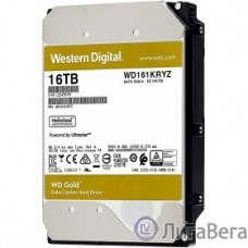 16TB WD Gold  (WD161KRYZ) {SATA III 6 Gb/s, 7200 rpm, 512Mb buffer}