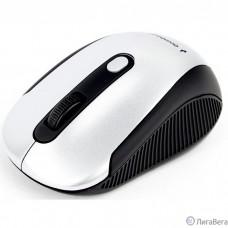 Gembird MUSW-420-4 {Мышь беспроводная, 2.4ГГц, серебряный, 4кн, 1600DPI, блистер} [MUSW-420-4]