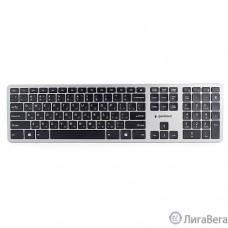 Клавиатура беспроводная Gembird KBW-3, {109 кл.,м/медиа, ножничный механизм, бесшумная}