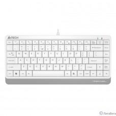 Клавиатура A-4Tech Fstyler FK11 белый USB slim [1391318]