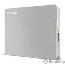 TOSHIBA Внешний жесткий диск TOSHIBA HDTX110ESCAA Canvio Flex 1ТБ 2,5″ USB 3.0/USB-C, серебро