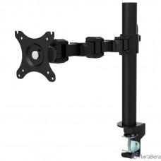 ONKRON D121E чёрный {Для экранов с диагональю 10″-34″ Максимальная нагрузка: 10кг VESA: 75x75, 100х100мм}