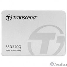 Transcend Твердотельный накопитель SSD 500GB, 2.5″ SSD, SATA3, QLC TS500GSSD220Q