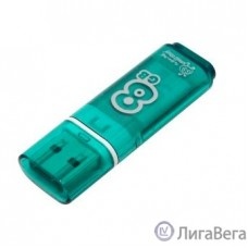 Smartbuy USB Drive 8Gb Glossy series Green SB8GBGS-G