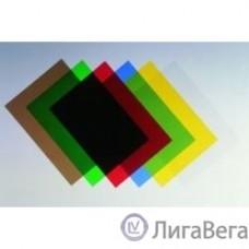 Fellowes Обложки для переплета Transparent FS-53771 (A4, 200 мкм, синий, 100 шт.)