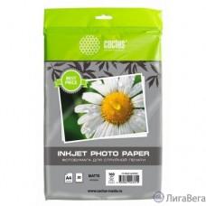 Фотобумага Cactus CS-MA416020ED A4/160г/м2/20л./белый матовое для струйной печати