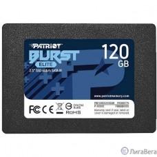 Patriot SSD 120Gb Burst Elite PBE120GS25SSDR {SATA 3.0}