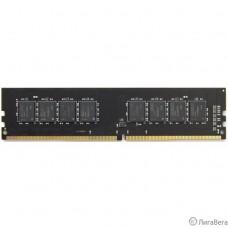 Память DIMM DDR4 4Gb PC21300 2666MHz CL16 AMD 1.2В (R744G2606U1S-UO)