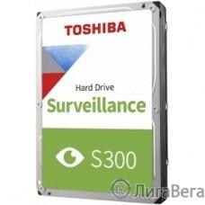 1TB Toshiba Surveillance S300 (HDWV110UZSVA) {SATA 6.0Gb/s, 5400 rpm, 128Mb buffer, 3.5″ для видеонаблюдения}