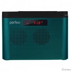 Perfeo радиоприемник цифровой ТАЙГА FM+ 66-108МГц/ MP3/ встроенный аккум,USB/морской синий (I170BL) [PF_C4942]