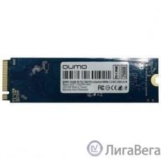 QUMO M.2 SSD 256GB Novation Q3DT-256GPPH-NM2 NVMe PCIe Gen3x4 NVMe 1.3 M2 2280