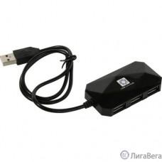 5bites Концентратор HB24-207BK 4*USB2.0 / USB 60CM / BLACK