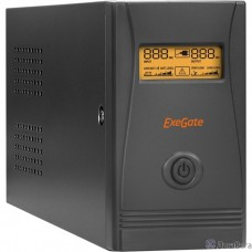 Exegate EP285478RUS ИБП ExeGate Power Smart ULB-850.LCD.AVR.EURO.RJ.USB