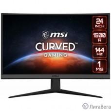 MSI Optix G24C6 23.6 FHD (1920x1080 (матовый))/Curved/1x DP /2x HDMI/144Hz/1ms/3.4kg [9S6-3BA01T-039]