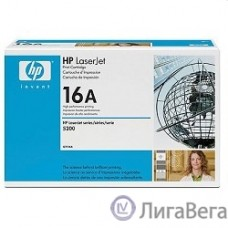HP Q7516A Картридж ,Black{LaserJet 5200, Black, (12 000 стр.)}