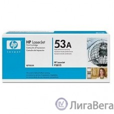 HP Q7553A Картридж ,Black{LaserJet P2015, Black, (3000 стр.)}